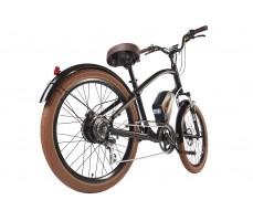 Фото велогибрида Leisger CRUISER CD5-600DA Black вид сзади