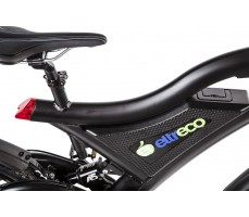 Фото маркировки рамы велогибрида Eltreco STORM 500W Black