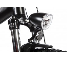 Фото переднего фонаря велогибрида Eltreco STORM 500W Black