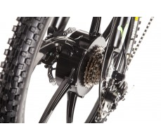 Фото дискового тормоза велогибрида Eltreco STORM 500W Black
