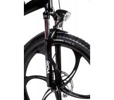 Фото вилки велогибрида Eltreco STORM 500W Black