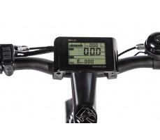 Фото велокомпьютера велогибрида Eltreco STORM 500W Black