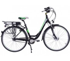 Велогибрид TOTEM Black Aqua E-City Black