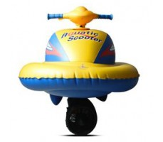 Фото гидроцикла Joy Automatic Aquatic scooter 60W Yellow вид спереди