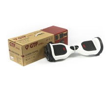 фото гироборда GTF Jetroll  Classic Edition White Gloss возле коробки
