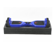 фото гироборда GTF Jetroll  Classic Edition Blue Gloss на подставке