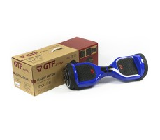 фото гироборда GTF Jetroll  Classic Edition Blue Gloss возле коробки