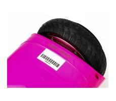 фото колеса гироборда GTF Jetroll  Classic Edition Pink Gloss вблизи