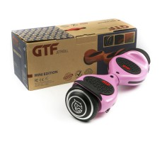 фото гироборда GTF Jetroll  Mini Edition LightPink возле коробки
