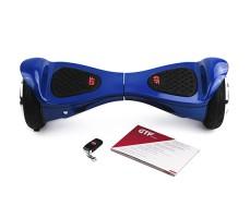 фото гироборда GTF Jetroll  United 8 Edition Blue Gloss спереди с инструкцией
