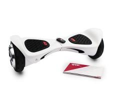 фото гироборда GTF Jetroll  United 8 Edition White Gloss спереди