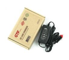 Фото автомобильно зарядного устройства GTF возле коробки