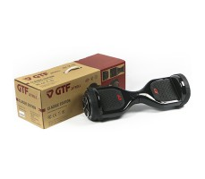 фото гироборда GTF Jetroll  Classic Edition Premium 6.5 Black Gloss возле упаковки