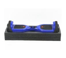 фото гироборда GTF Jetroll Classic Edition Premium 6.5 Blue Gloss на подставке