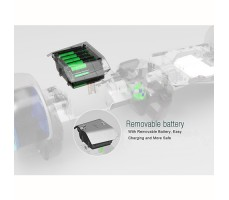 фото отсека для батареи гироскутера Ecodrift Formula 1 + App + Самобаланс