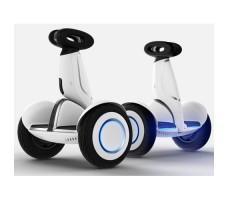 Боковые фото гироскутеров мини-сигвеев Mini Robot Plus 54v White
