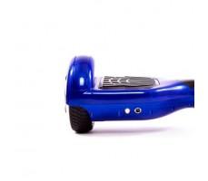 Фото Ruswheel i7 синий  правая сторона видно кнопку включения и разъем зарядки