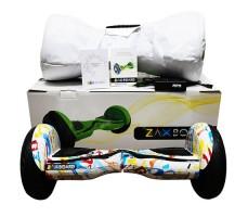 фото гироскутера Zaxboard ZX-11 Pro Graffity возле коробки