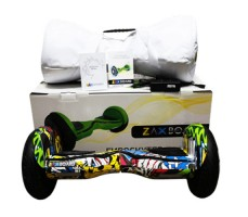 фото гироскутера Zaxboard ZX-11 Pro Hip-Hop возле коробки