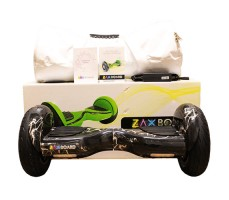 фото гироскутера Zaxboard ZX-11 Pro Ligtning возле коробки