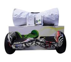 фото гироскутера Zaxboard ZX-11 Pro Pirat возле коробки
