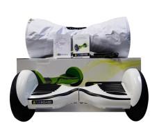 фото гироскутера Zaxboard ZX-11 Pro White Piano возле коробки