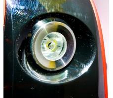 Фото переднего фонаря моноколеса Gotway Monster 22 1600 WH Red