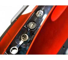 Фото разъема зарядки моноколеса Gotway Monster 22 1600 WH Red