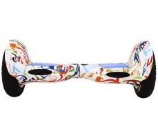 Фото гироборда Hoverbot А-8 White Multicolor вид спереди