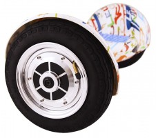 Фото колеса гироборда Hoverbot А-8 White Multicolor