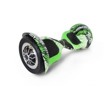 Гироскутер Hoverbot C-1 LIGHT Green Multicolor вид сбоку
