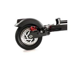 Электросамокат KUGOO-M3 Black вид на заднее колесо