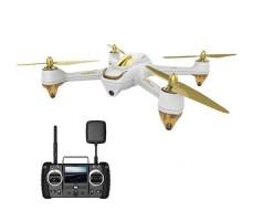 фото квадрокоптера Hubsan H501S PRO H501SS PRO FPV GPS RTF 2.4G белого цвета с пультом д/у
