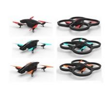 фото квадрокоптера Parrot A.R. Drone 2.0 Power Edition iOS и Android Control в трех разных комплектах пропеллеров