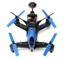 фото квадрокоптера гоночного Walkera F210 3D (камера, OSD) BNF 5.8G сверху