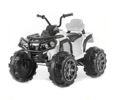 Детский квадроцикл Joy Automatic Grizzly White