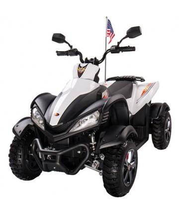 Детский квадроцикл Joy Automatic Yamaha Raptor White | Купить, цена, отзывы