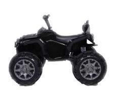 Детский квадроцикл Joy Automatic Grizzly Black вид сбоку