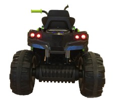 Детский квадроцикл Joy Automatic Grizzly Green фото сзади