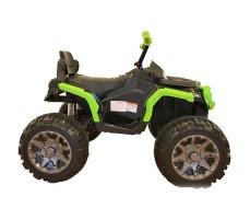 Детский квадроцикл Joy Automatic Grizzly Green фото сбоку