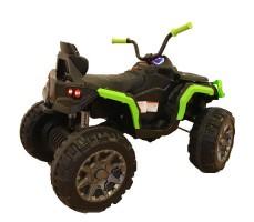 Детский квадроцикл Joy Automatic Grizzly Green фото с повернутым рулем
