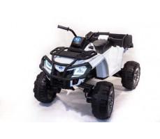 Детский электроквадроцикл TOYLAND 0909 Grizzly Next 4x4 White