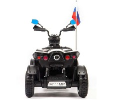 фото детского электроквадроцикла Barty Cross M111MP White сзади