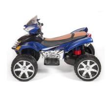 фото детского электроквадроцикла Barty Quad Pro М007МР Blue сбоку