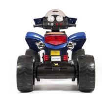фото детского электроквадроцикла Barty Quad Pro М007МР Blue сзади