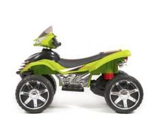 фото детского электроквадроцикла Barty Quad Pro М007МР Green сбоку