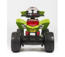 фото детского электроквадроцикла Barty Quad Pro М007МР Green сзади