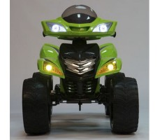 фото детского электроквадроцикла Barty Quad Pro М007МР Green спереди