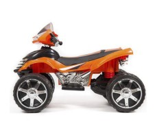 фото детского электроквадроцикла Barty Quad Pro М007МР Orange сбоку