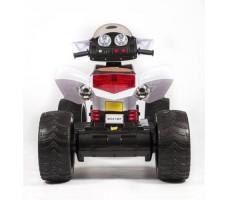 фото детского электроквадроцикла Barty Quad Pro М007МР White сзади